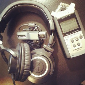Gear used in recording a Google+ Hangout